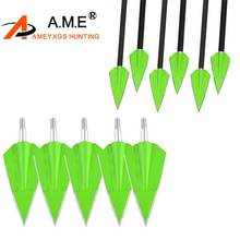 6 Pcs Hunting Arrow Tips 150 Grains Points Compound Bow Archery Blades Arrowheads Shooting