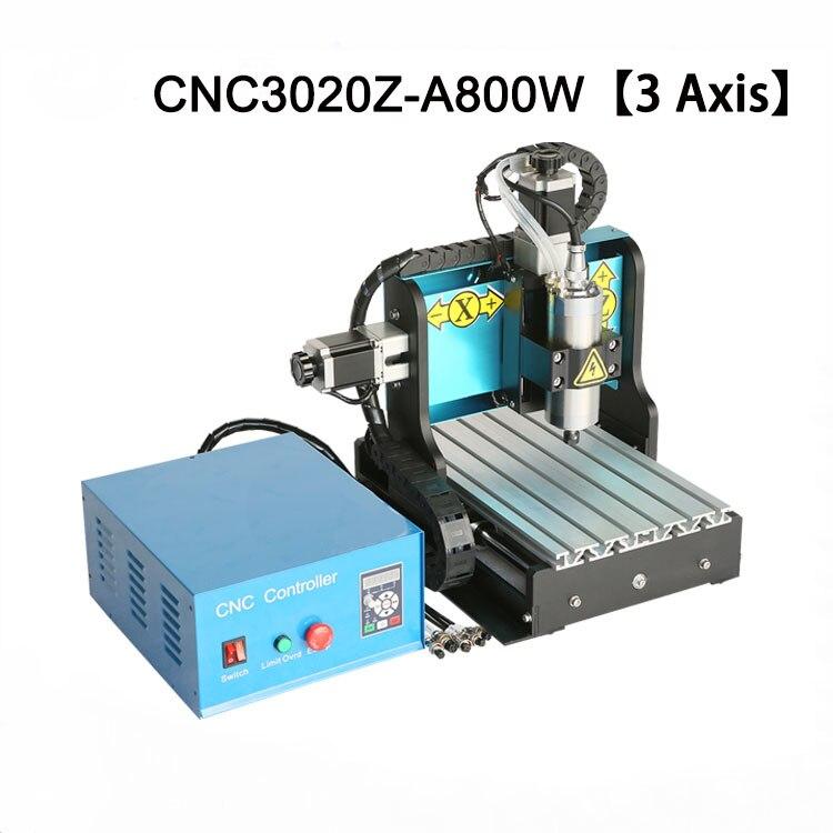 3 axes 3020 CNC routeur 800 W refroidi à l'eau broche CNC Mini Machine de gravure USB pour EVA mousse bois doux métal sculpture nouveau