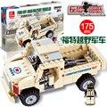 Jie estrella 29003 antiterrorista serie 175 unids militar SWAT DIY educativos plástico niños juguetes juegos de bloques de construcción