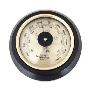 Image 2 - Бытовой Настенный термометр, гигрометр с деревянной рамой, 180 мм 132 мм 960 ~ 1060 hPa