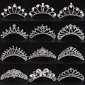 Hot Sale Design Rhinestone Crown Head Comb Tiara Wedding Bride Crystal Headband Party Prom Hairband For Girls And Woman Gifts