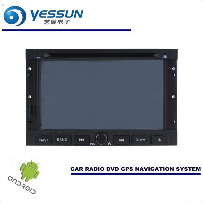 YESSUN автомобильный Android навигационная система для peugeot 207/Partner 2006 ~ 2016 Радио стерео CD DVD плеер с gps навигатором BT HD мультимедиа