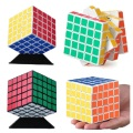 2016 New Shengshou 64mm Magic Cube Speed Puzzle Kids Educational Twisty Magico Cubo Snake Stickerless Toys Free Shipping