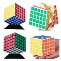 2016 New Shengshou 64mm Magic Cube Speed Puzzle Kids Educational Twisty Magico Cubo Snake Stickerless Toys Free Shipping