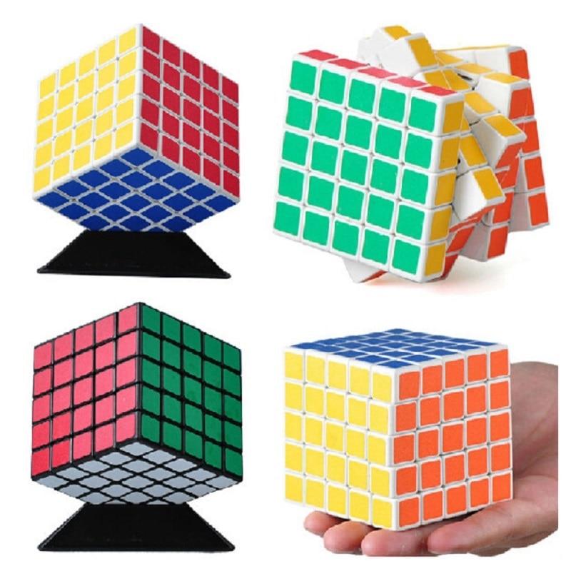 Shengshou 64mm Puzzle Cube Black & White Puzzle de viteză PVC & Matte Postituri Magico Cubo Educational Twisty Toys Transport gratuit