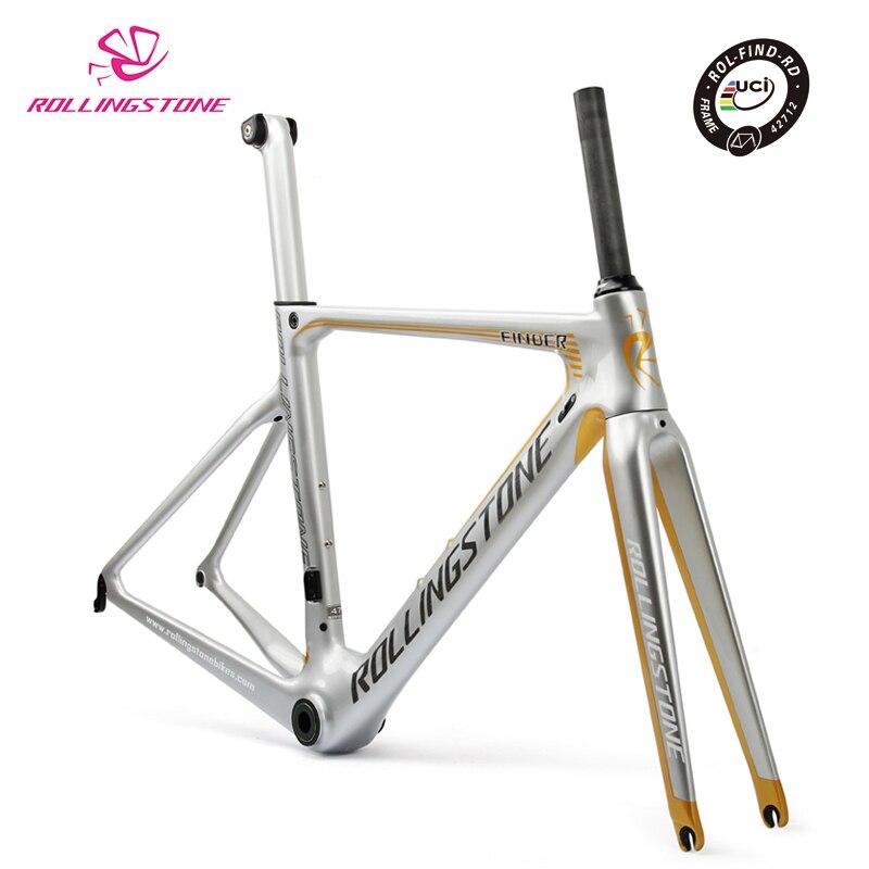 Rolling Stone UCI bicycle frame carbon road bike aero frameset FINDER 2018 700C 45 47 50 52 54cm racing toray T800 ultralight smileteam t800 aero carbon road bike frame di2