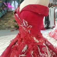 AIJINGYU งานแต่งงานชุดสีขาวชุดราคาถูก Pearl ฤดูร้อน Ball Dres ที่สวยงามราคาถูกชุด Sheer ชุด