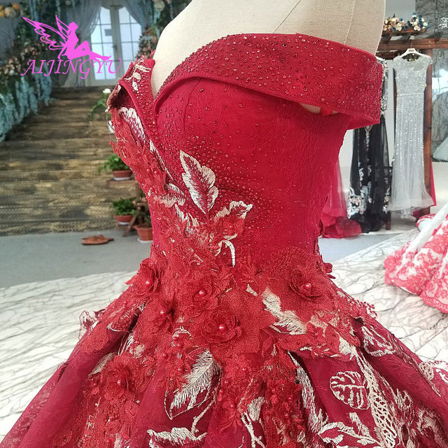 AIJINGYU свадебное платье белые платья дешевые с жемчугом летние Бальные платья дешевые красивые платья отвесное платье