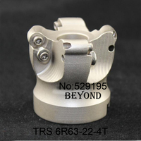TRS 6R63 22 4T Round Nose Surface Nc Cutter Cnc Milling Cutter Face Milling Cutter Head