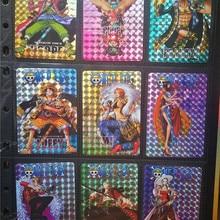 9 шт./Горячая Анимация одна штука супер фигурки золотые флеш-карты бумажные карты коллекция карт Детские Подарочные игрушки