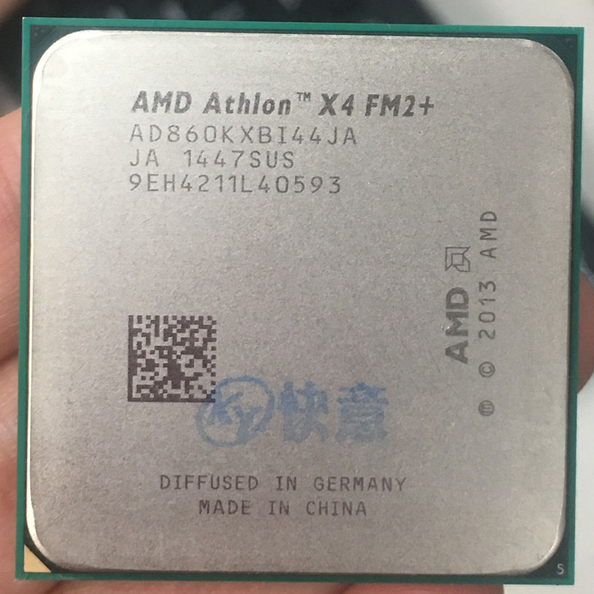 AMD CPU Processor 860 Duad-Core K Ghz Desktop Ad860kxbi44ja-Socket FM2 Properly 100%Working