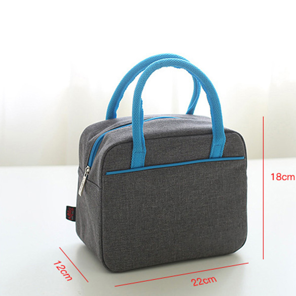 Cooler Lunch Bag Picnic Bento Box Fresh Keeping Ice Pack Food Fruit Storage Accessories Supply ALS88