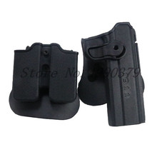 1911 Holster Tactical Army CQC IMI Colt Airsoft Military Paddle Pistol Gun Hunting Case Accessories