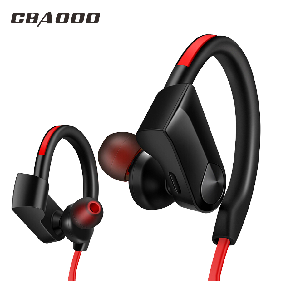 Wireless Bluetooth Earphones Sports Headphone Stereo Headset Waterproof bluetooth earphone with MIC for phone xiaomi K98 original dacom g18 sports bluetooth headset stereo auriculares wireless headphone running ear hook waterproof earphone with mic