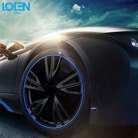 2Pcs Lot 8M Car Wheel Hubs Strips Car Styling Modification Wheel Rim Decoration Protective DIY 8M