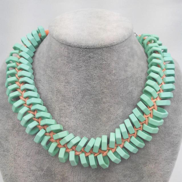 Nova Z moda colares e pingentes de silicone bib mulheres colar partido colar de jóias