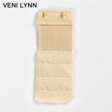 VENI LYNN 3Pcs  Underwear Buckle Women Adjustable Bra Extender Intimates Accessories Soft Ladies Bra Extension 3 Rows 2 Hooks