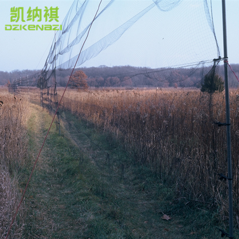3 pz/lotto Anti vento 4x16 m foro della maglia 14 millimetri colore Nero 0.09 millimetri di diametro Nylon Siskin uccello Mist Net-in Repellenti da Casa e giardino su  Gruppo 1