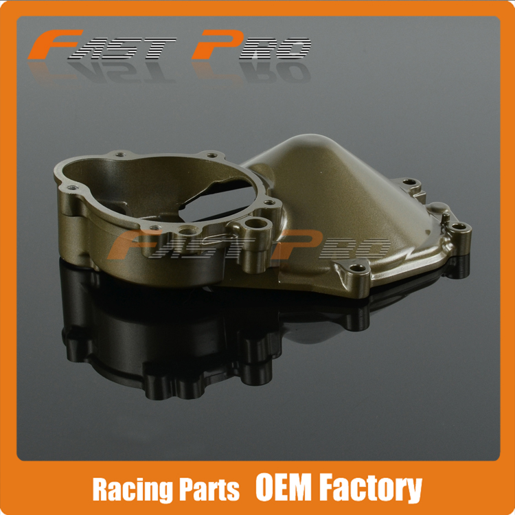 Engine Motor Stator Crankcase Cover For KAWASAKI ZX-10R ZX10R ZX 10R 2004 2005 04 05 Motorcycle maluokasa motorcycle aluminum engine stator cover for kawasaki zx 6r zx636 zx 636 2003 2004 moto crankcase replacement part zx6r