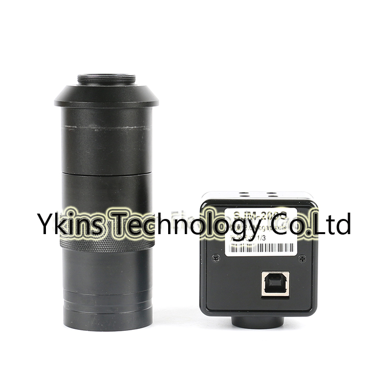 5 0mp cmos usb 3 0 high speed hd usb video microscope camera industry electronic digital eyepiece microscope 100x c mount lens HD 2MP CMOS USB Industrial Camera Electronic Digital Eyepiece Microscope + 100X C-MOUNT Lens Free Driving Measurement Software