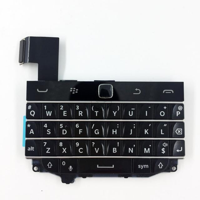Brand new teclado key board com flex cabo conector para blackberry classic q20 teclado habitação peças de reposição