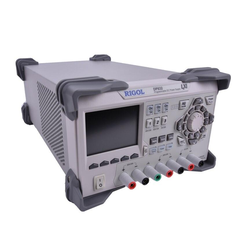 Программируемый Линейный источник питания DP832, 3 канала, 30 В/3 А, 195 Вт, защита от перегрузки/перегрузки по току/перегрева, низкая пульсация