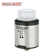 Digiflavor DROP RDA Rebuildable Drip Atomzier 24mm Diameter with 4 Large Post Holes & 510/810 Drip tip for Box Mech Mod Battery