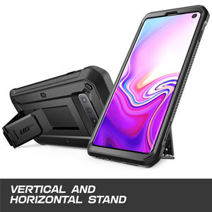 Image 3 - SUPCASE UB Pro For Samsung Galaxy S10 Case 6.1 inch Full Body Rugged Holster Kickstand Case WITHOUT Built in Screen Protector