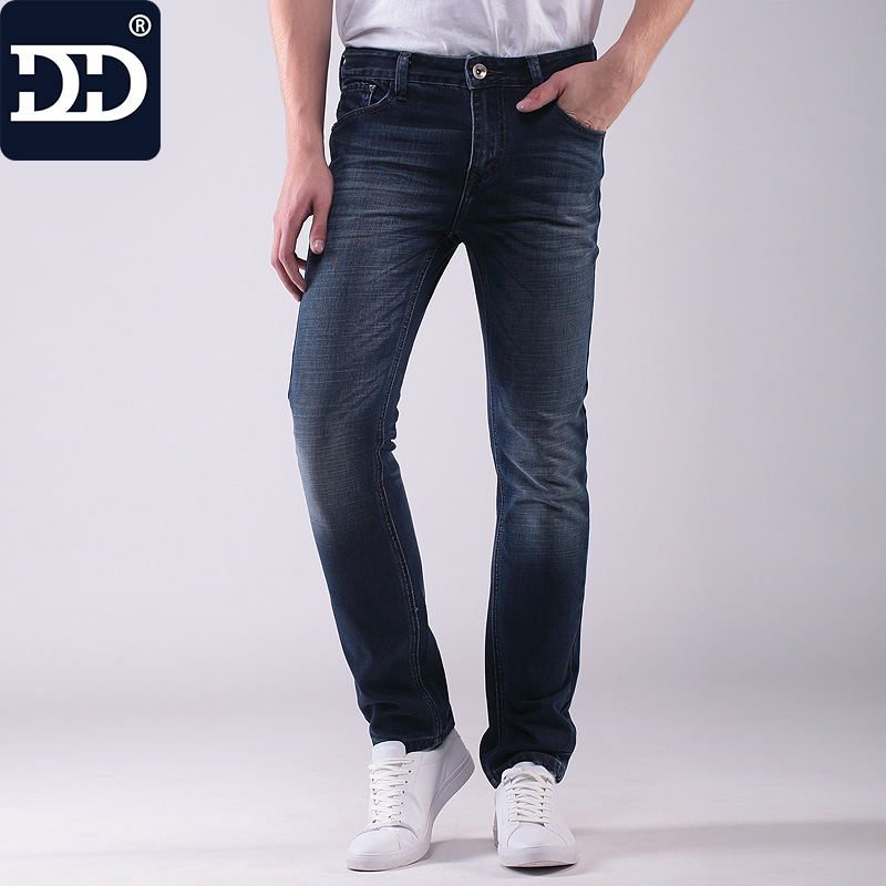 Dingdi 2017 Jean Homme Hot Sale Jeans Men Straight Jeans Casual Pants Blue Jeans For Men Hot Male Denim men s cowboy jeans fashion blue jeans pant men plus sizes regular slim fit denim jean pants male high quality brand jeans