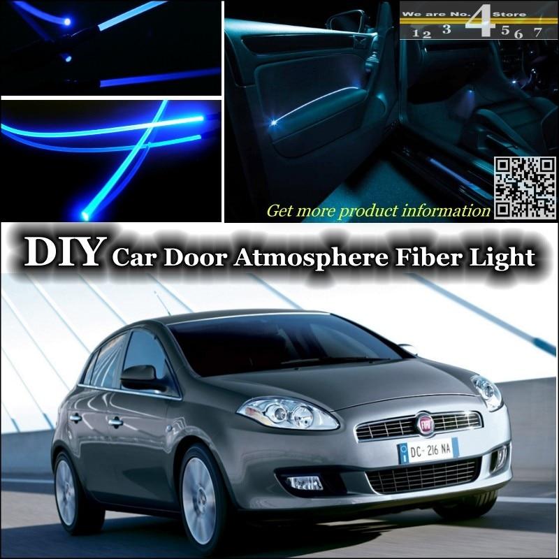 Us 2185 13 Offdla Fiat Bravorytm 2007 2015 Wnętrze Ambient Light Tuning Atmosfera światłowód Zespół światła Drzwi Panel Oświetlenia Remont W