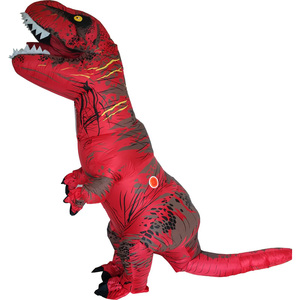 Image 4 - T REX Costume inflatable dinosaur costume For Anime Expo traje de dinosaurio inflable Blowup disfraces adultos costume for adult