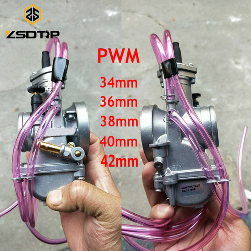 ZSDTRP NEW Keihin PWM 34 36 38 40 42mm Carburetor 2T 4T Engine for Motorcycle Scooter