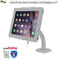 tablet Security Gooseneck Tabletop Wall Mount holder anti theft bracket with lock display stand for ipad 2 3 4 Air1 2 Pro 9.7