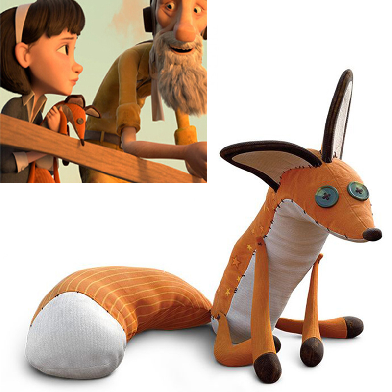 The Little Prince Fox Plush Dolls 40cm Le Petit Prince Stuffed Animal Plush Education Toys For Baby Kids Birthday/Xmas Gift(China)