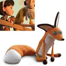 Маленькая плюшевая кукла принца, лиса, 40 см, Мягкое Животное Маленького принца, Плюшевые Развивающие игрушки для малышей, подарок на день ро...