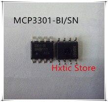 NEW 10PCS/LOT MCP3301-BI/SN MCP3301T-BI/SN MCP3301 3301-BI SOP-8 IC