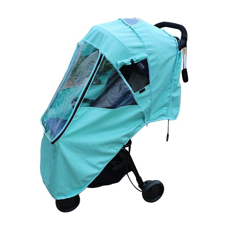 Baby stroller rain cover Child baby umbrella car accessories windproof rain cover universal Rain cloth raincoat winter warm stroller rain cover waterproof cover universal twins baby stroller rain cover windproof baby carriage stroller accessories