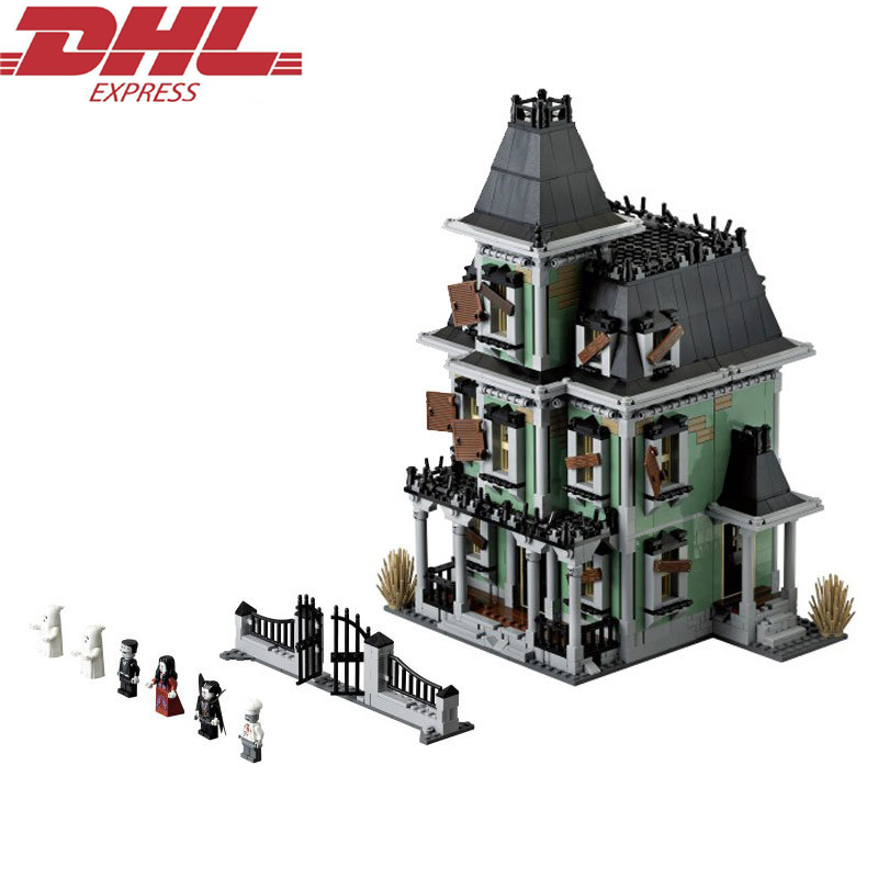 LEPIN Monster Warrior Haunted house Building Blocks Sets Kits Bricks Movie DC Batman Model Kids Toys Marvel Compatible Legoings gonlei new marvel dc super heroes the avengers batman movie bane model building blocks sets toys compatible with lepin gifts