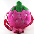 New Design Lovely Stereoscopic Fruits Plush Messenger Bag Princess Package For Baby Girls Children Kindergarten Handbag Gift 30