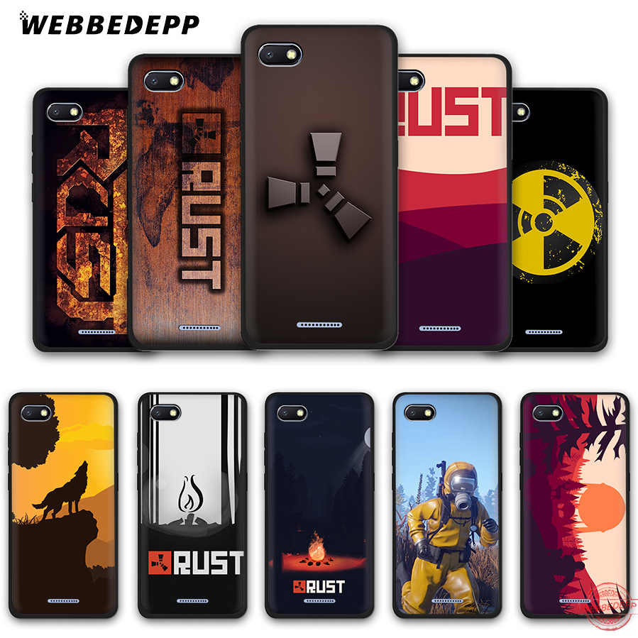 WEBBEDEPP Rust game Soft Phone Case for Redmi Note 8 7 6 5 Pro 4A 5A 6A 4X 5 Plus S2 Go Cases
