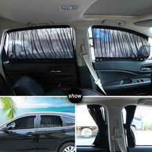 2 шт./компл. окна автомобиля крышка козырек от солнца Двусторонняя Авто Шторы анти-УФ Пелерина Подзор защита конфиденциальности оттенок
