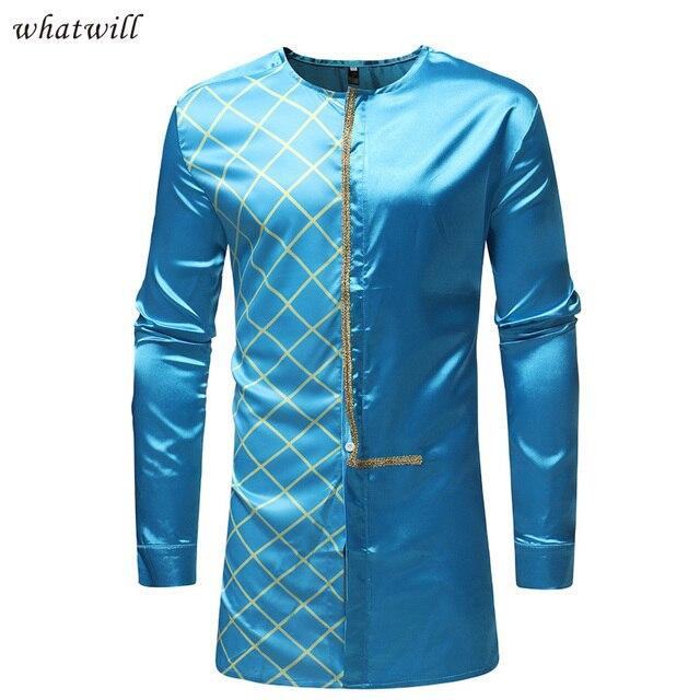 mens africa clothing fashion dress shirts dashiki wear 4