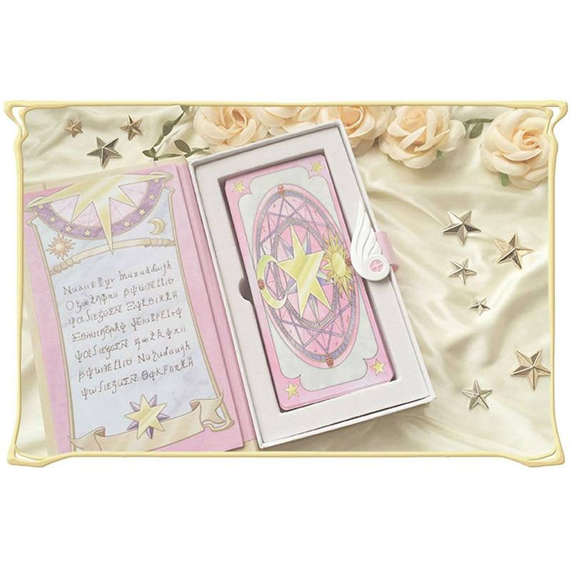 Costumes & Accessories Costume Props Cardcaptor Sakura Card Cosplay Card Captor Kinomoto Tarot Book With Clow Cards Magic Book Set In Box Prop Gift Phone Chain