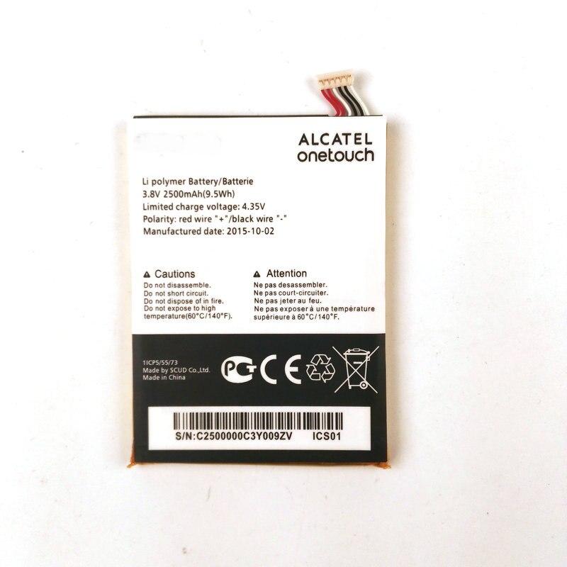 1pcs 100% High Quality 2500mAh Battery For Alcatel pop 2 7043A 7043Y 7043K phone