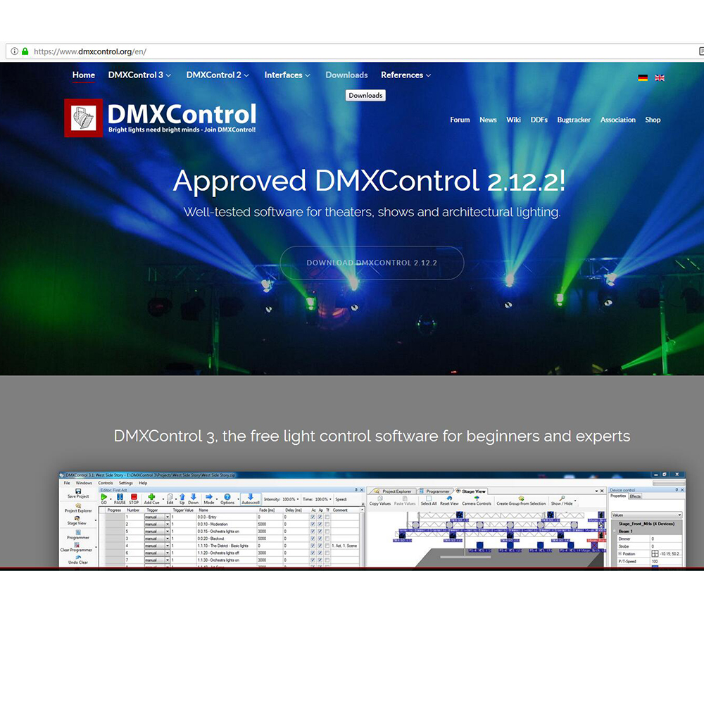 Usb Dmx Controller Cable Dmx Interface Adapter Stage Lighting Disco Light  Dj Dmx512 Usb Party Lights Beam Freestyler Cable