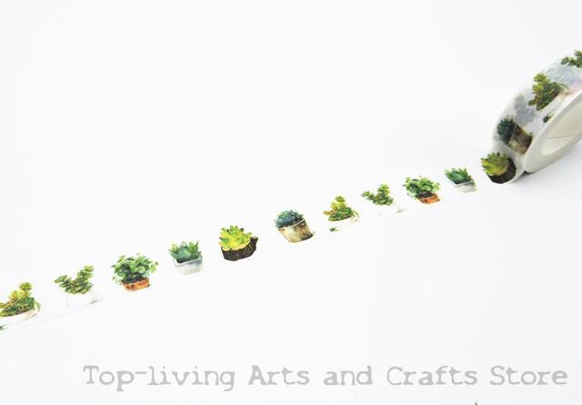 2016 New Printing Japanese Washi Tape Office Adhesive Scrapbooking Tools Kawaii Decorative Great Christmas Cute Craft Gift