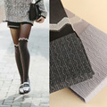 Stockings Striped Cotton Hot Sale Collant Women Tights 2016 Autumn New Wave Jacquard Pantyhose Woman Fashion Tights Women