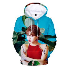 TWICE Sunshine 3D Hooded Sweatshirt 2019 New listing Fashion Casual Pop Singer Men's Wear Women's Print Men 3D Hooded Sweatshirt casual irregular stripe print men s hooded sweatshirt