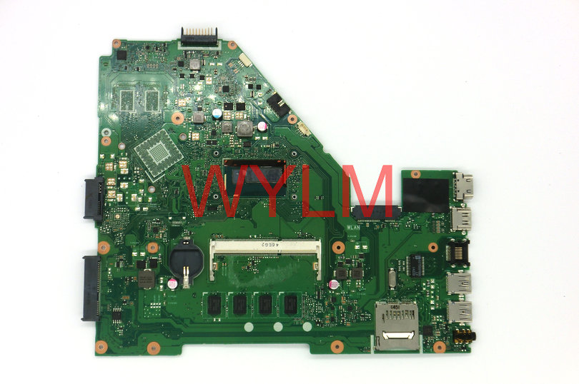 FREE SHIPPING original laptop X550LA X550LD motherboard main board mainboard REV 2.0 WITH SR16Q I3-4010 CPU 100% Tested Working free shipping new brand original a54c x54c k54c motherboard mainboard main board rev 2 1 4g ram memory ddr3 usb 3 0 tested well
