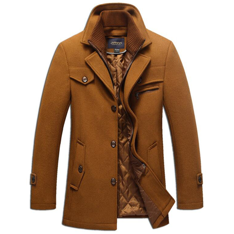 IN YESON Brand Ultra Light Duck Down Coat Men Fashion Simple Design Stand Collar Autumn Winter